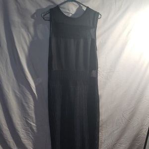Ashley Stewart black ankle length dress